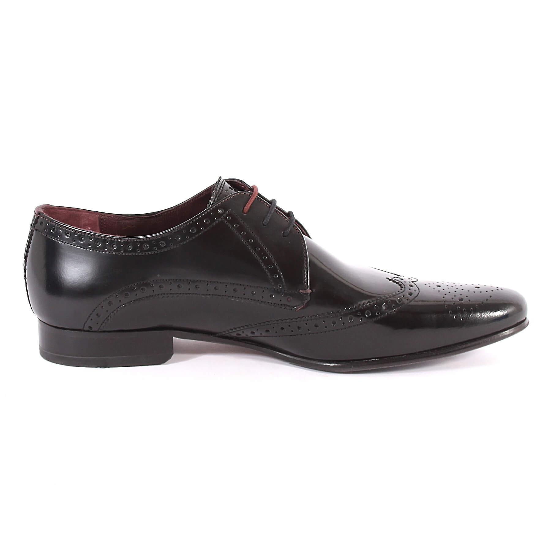 bf23d331a83c6 Home   Men   Shoes   Formal   Ted Baker Men s Albbin Leather Lace Up Formal  Shoe Black