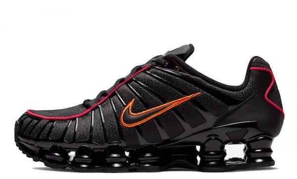 Nike-Shox-TL-Black-Orange-CV1644-001